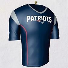2018 Hallmark Keepsake New England Patriots Jersey Ornament Nib New collectible