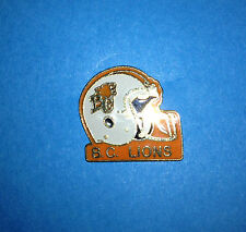 Vintage British Columbia BC Lions CFL Football Collectors Lapel Hat Jacket Pin A