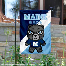 Maine Black Bears Tokyodachi Garden Flag and Yard Banner