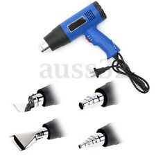 220V 1500W Hot Air Heat Gun Dual Temperature With 4 Nozzles Power Tool Set Plug