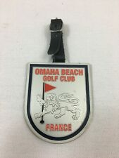 Collector Omaha Beach Golf Club Caddie plaque Normandy France WWII land