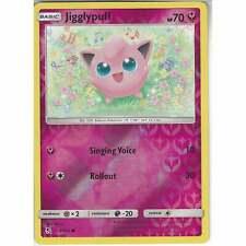 41/68 Jigglypuff | Common Reverse Holo | Pokemon Trading Card Game Hidden Fates