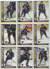 2001-02 Manchester Monarchs (AHL) complete 30 card team set