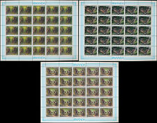 Rwanda Primates from the forest of Nyungwe (A. Buzin) 1988 ** 3 sheets