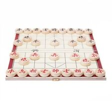 Portable Traditional Xiang Qi Wooden Folding Chinese Chess Checker