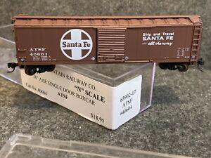 N Scale-Intermountain Santa Fe AAR 50' ATSF Boxcar 65902-17 40604