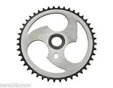 Sprocket Zt7a-d 44t 1/2 X 1/8 Chrome Black Chainring BMX Cruiser Bicycles 137719