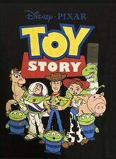 NEW Disney Toy Story 4 Womens T Shirt Graphic Black LARGE