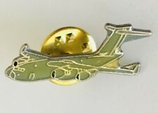 US Military Aircraft Transport Airline Pin Badge Vintage (N6)