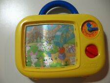 Wind Up moving screen music toy, works great
