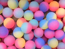 "(50) HI BOUNCE ICE BALLS SUPER HIGH BOUNCE BALL 27mm 1"" Vending NEW #SR24"