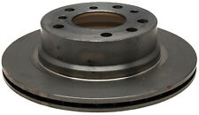 Disc Brake Rotor-Non-Coated Rear ACDelco Advantage 18A1600A