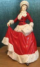 Royal Doulton Pretty Ladies Winter Figurine Hn 5314 Four Seasons Collection
