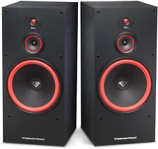 "(2) CERWIN VEGA SL-12 - 12"" 300W 3-WAY FLOOR TOWER SPEAKERS / HOME / Auth Dealer"