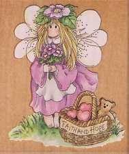 Motivo timbro STAMPS Happen Elfo Fairy Viola speranza figlio dei fiori