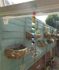 sun catcher window hanging rainbow colours horse 100% horse and donkey charity