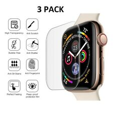 5 X Tempered Glass Screen Protector For Apple Watch Series 4 (44MM)