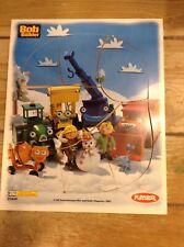 Playskool Wood Puzzle Bob The Builder #02449 VGC