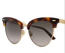 Gucci Cateye Sunglasses GG4283S CRXHA Dark Havana/Gold GG4283