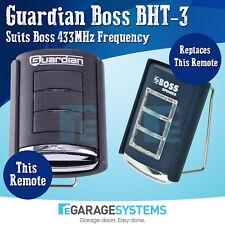 Guardian 4D Doors BHT-3 Remote BHT3 433MHz Suits Boss Openers 433mhz x1