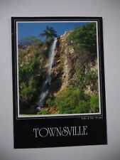 POSTCARD THE FALLS AT THE STRAND TOWNSVILLE QUEENSLAND AUSTRALIA POSTED 1989