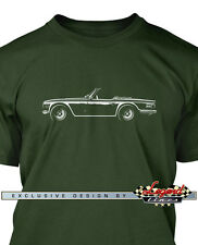 Triumph TR6 Roadster T-Shirt for Men - Multiple Colors and Sizes - British Car