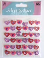 EK SUCCESS JOLEE/'S BOUTIQUE VELLUM LEAVES STICKERS BNIP *LOOK*