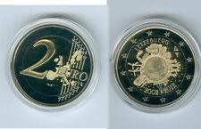 Luxemburgo 2 euro 2012 10 años euro-efectivo sólo pp 4.500 trozo!