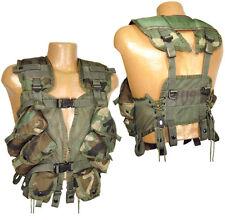 Gen II Woodland LBV Tactical Vest Enhanced Rig Army Surplus LBE Nylon Grade 2