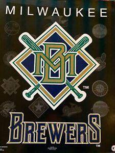 Milwaukee Brewers Baseball Team Poster New