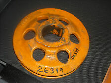 """Nos Woods 26399 7 3/4"""" cast iron pulley, 2"""" bore for Woods brand mowing machine"""