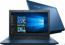 "Lenovo IdeaPad 305 15.6"" Blue Laptop (Core i3-5005U 4GB 1TB Win 10 80NJ00F2UK A+"