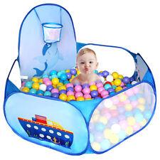 120cm Outdoor Indoor Kid Baby Children Game Play Toy Tent Ocean Ball Pit Pool HQ