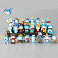 Doraemon Cat-Like Robot Q Version 24Pcs Anime Action Figure Gift Cake Topper Toy