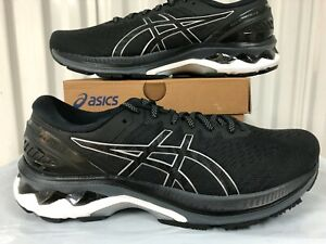 Asics Gel Kayano 27 Black Pure Silver 9 2E WIDE WIDTH 1011A835 001 Running Shoes