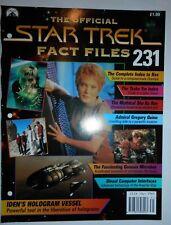 THE OFFICIAL STAR TREK FACT FILES #231