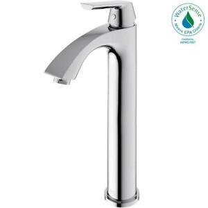 Vigo VG01023CH Single Handle Chrome Finish Faucet
