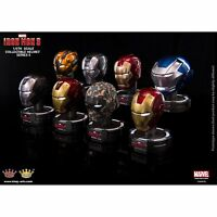 Iron Man 1/5 King Arts Deluxe Helmet Series 5 Marvel Comic Figur Display NEU