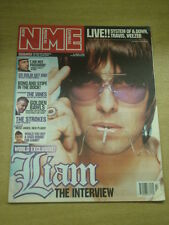 NME 2002 APR 6 OASIS LIAM GALLAGHER VINES STROKES