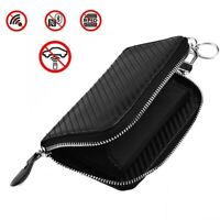 1 X Car Key RFID Signal Blocker Case Faraday Cage Fob Pouch Keyless Blocking Bag