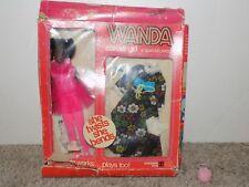Vintage Wanda Career Girl Ballerina African American Doll Shindana Toys