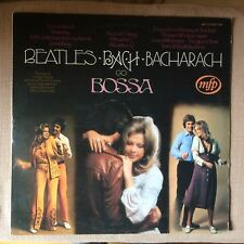 BEATLES BACH & BACHARACH GO BOSSA VG+/NEAR MINT LP 1st Pressing - MFP EMI