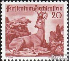 Liechtenstein 285 neuf avec gomme originale 1950 chasse