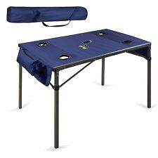 NEW NBA Utah Jazz Portable Soft Top Sports Travel Table, Color: Navy