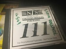 used cd nfs country singles for radio 111- ex radio station various artists