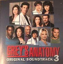 Grey's Anatomy Original Soundtrack Volume 3 | CD | 2007