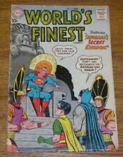 1960 World's Finest Comics Superman's Secret Kingdom Comic Book - Aug. No. 111