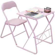 Kids Folding Table Chair Set Study Writing Desk Student Children Home School New