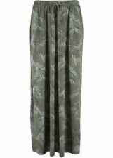 New  Bonprix Olive Long Skirt Size 6/8 BNWT