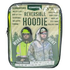 Forester Hi-Vis Class 3 Reversible Hoodie, Wear to work, Reverse it for Hunting